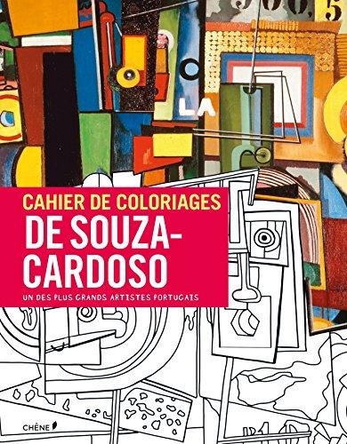 CAHIER DE COLORIAGES AMÉDÉO DE SOUZA-CARDOSO (GRAND FORMAT): COLLECTIF