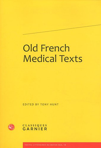 9782812402395: old french medical texts