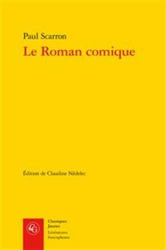 9782812402609: Le Roman comique