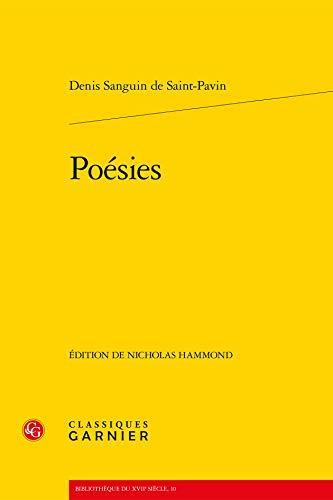 Poesies.: Saint-Pavin, Denis Sanguin de