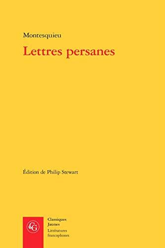 9782812408526: Lettres persanes