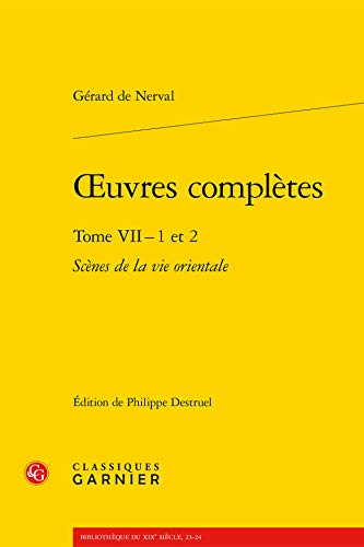 Oeuvres Completes Tome VII - 1 2