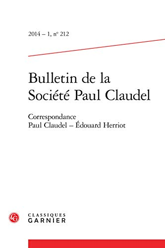 Correspondance Paul Claudel - Edouard Herriot: Collectif