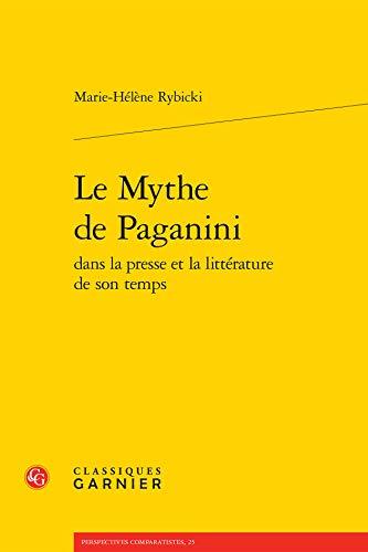 Mythe Paganini Dans Presse Litterature Son Temps: Marie-Hélène Rybicki