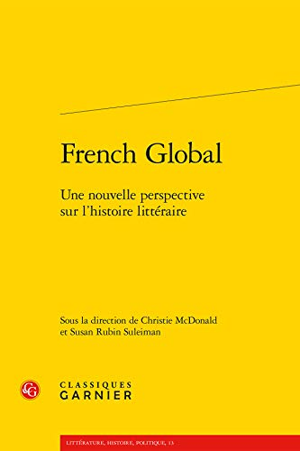 French global Une nouvelle perspective sur l'histoire litteraire: McDonald Christie V