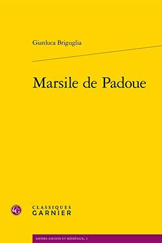 9782812434297: Marsile de Padoue