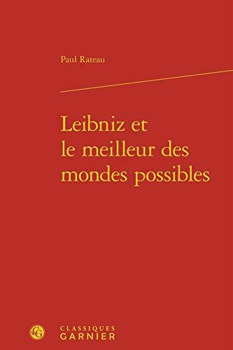 9782812438240: Leibniz et le meilleur des mondes possibles