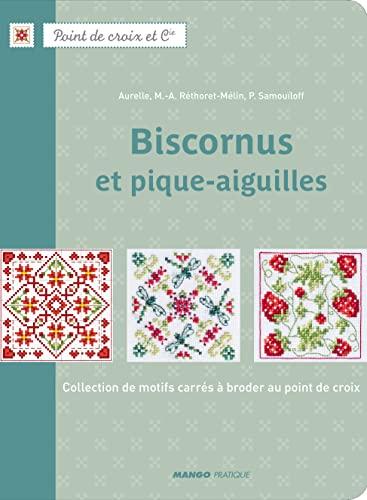9782812500626: Biscornus et pique-aiguilles : Collection de motifs carr�s � broder au point de croix