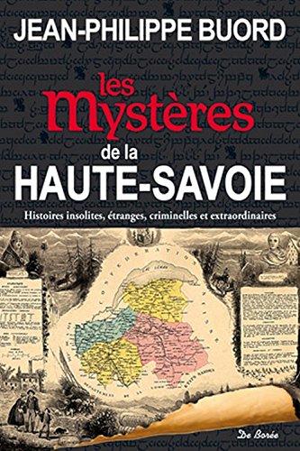 9782812914010: Les myst�res de la Haute-Savoie