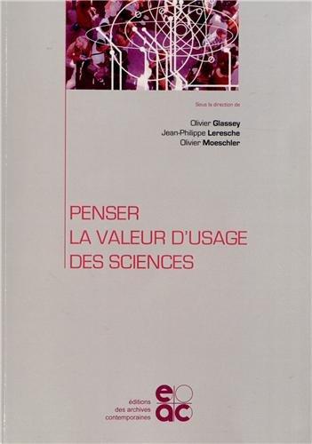 9782813000866: Penser la valeur d usage des sciences