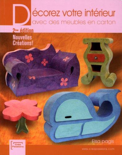 9782814100206: D�corez votre int�rieur avec des meubles en carton (2 �dition)