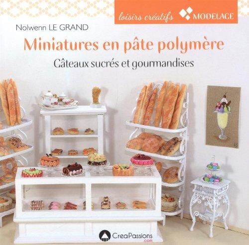 9782814102170: Miniatures en pâte polymère : Gâteaux sucrés et gourmandises (Modelage)