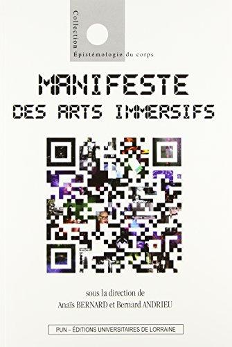 9782814301962: Manifeste des Arts Immersifs
