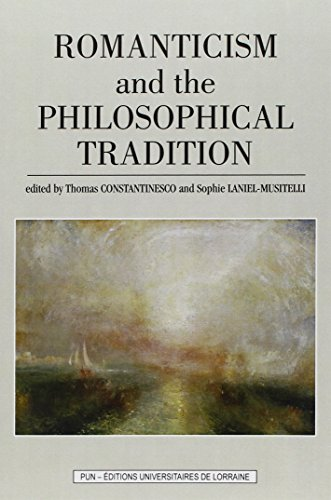 9782814302310: Romanticism and the Philosophical Tradition