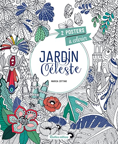 9782815307192: Jardin céleste : 2 posters à colorier
