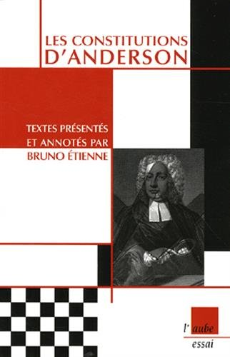 9782815901116: Les constitutions d'Anderson