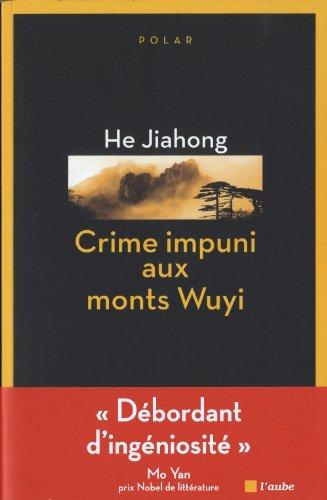 9782815905886: Crime impuni aux monts Wuyi