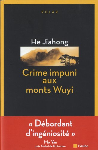 9782815905886: Crime impuni aux monts Wuyi