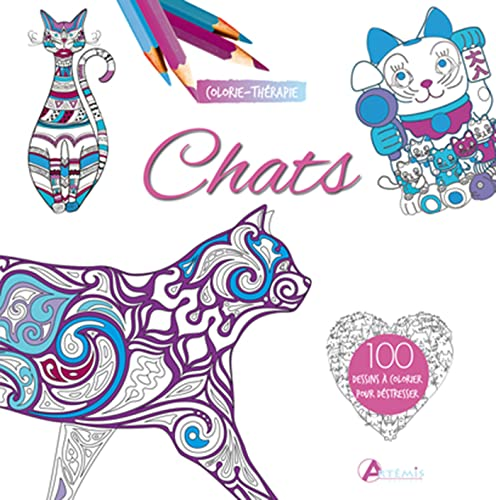 9782816008180: CHATS COLORIE-THERAPIE