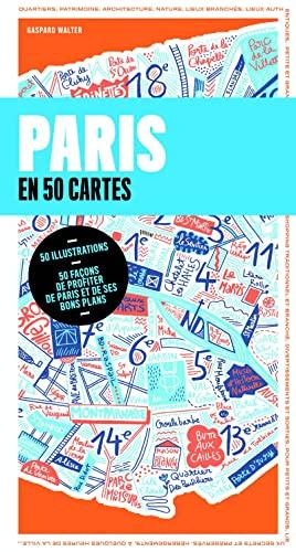 9782816152227: Paris en 50 cartes et 500 adresses