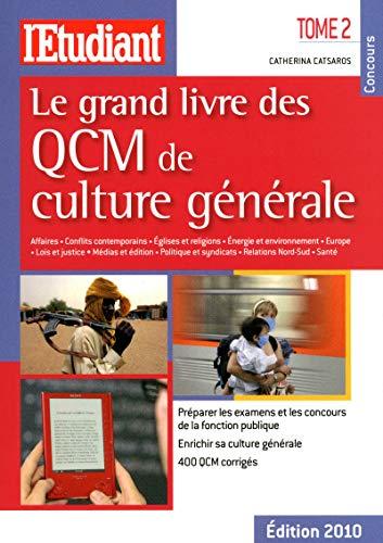9782817600093: Le grand livre des QCM de culture générale : Tome 2