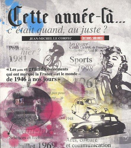 9782817700892: Cette année-là ... (French Edition)