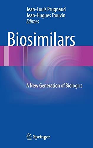 9782817803357: Biosimilars: A New Generation of Biologics
