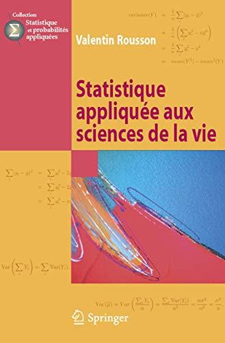 STATISTIQUE APPLIQUEE AUX SCIENCES DE LA: ROUSSON VALENTI