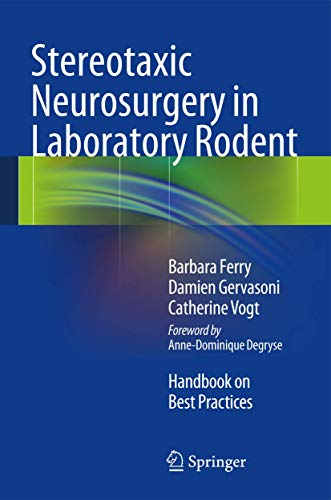 9782817804712: Stereotaxic Neurosurgery in Laboratory Rodent: Handbook on Best Practices