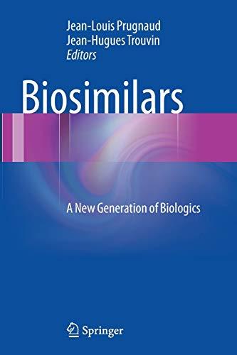 9782817805146: Biosimilars: A New Generation of Biologics