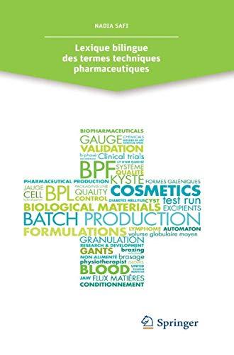 9782817805320: Lexique bilingue des termes techniques pharmaceutiques