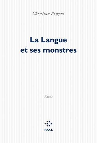 9782818021477: La Langue et ses monstres