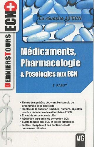 9782818300855: M�dicaments, pharmacologie & posologies aux ECN