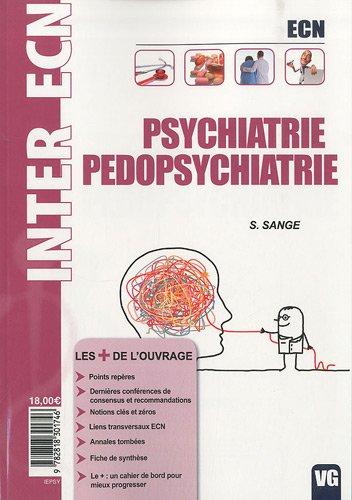 9782818301746: Psychiatrie Pédopsychiatrie