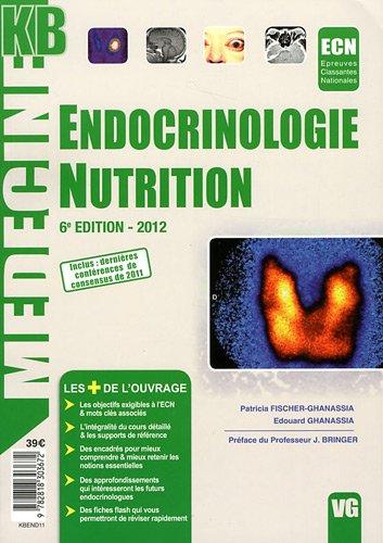 9782818303672: kb endocrinologie nutrition 2012