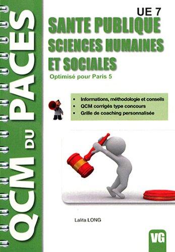 9782818304266: Santé publique - Sciences humaines et sociales UE 7 : Optimisé pour Paris 5