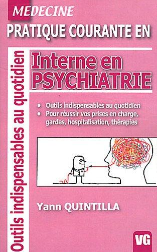 9782818305027: Interne en psychiatrie