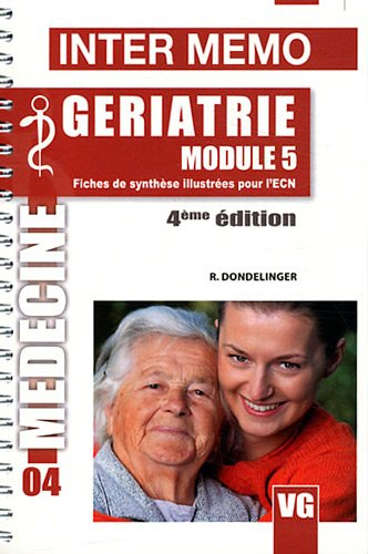 9782818305898: G�riatrie module 5