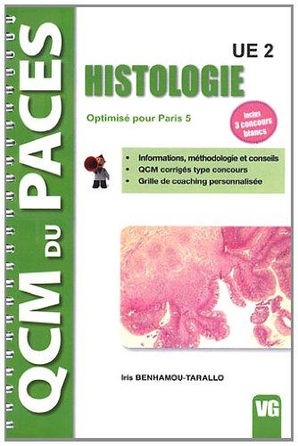 9782818306239: Histologie UE2 : Optimis� pour Paris 5