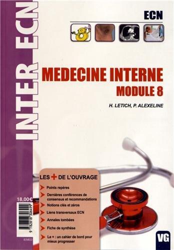 9782818306499: Médecine interne : Module 8