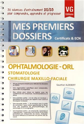 9782818307632: Ophtalmologie-ORL-Stomatologie chirurgie maxillo-faciale