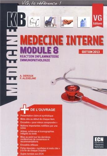 9782818308042: M�decine interne module 8 : R�action inflammatoire, immunopathologie