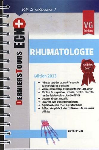 9782818308257: Ecn+ Derniers Tours Rhumatologie