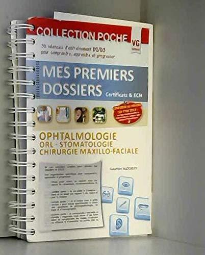 9782818309285: Ophtalmologie, ORL-Stomatologie, Chirurgie maxillo-faciale