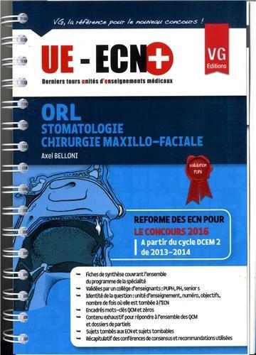 9782818309513: ORL Stomatologie Chirurgie maxillo-faciale