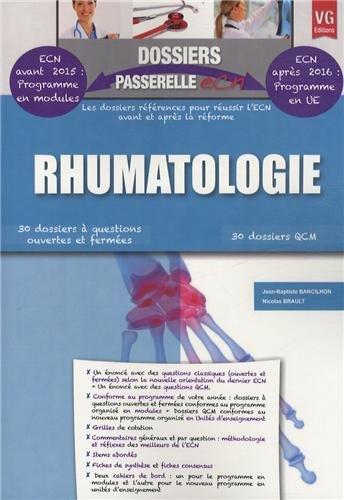 9782818310359: Rhumatologie
