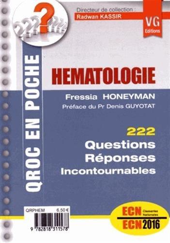 9782818310779: H�matologie