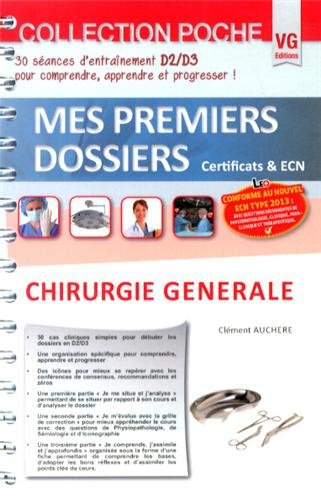 9782818311196: Chirurgie g�n�rale (Mes premiers dossiers)