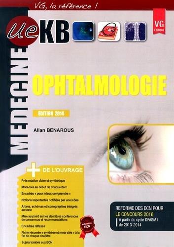 9782818311905: Ue Kb Ophtalmologie