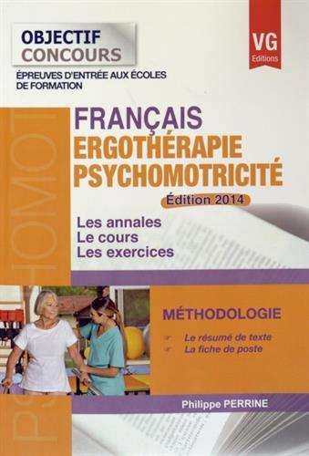 9782818312391: Français Ergothérapie Psychomotricité